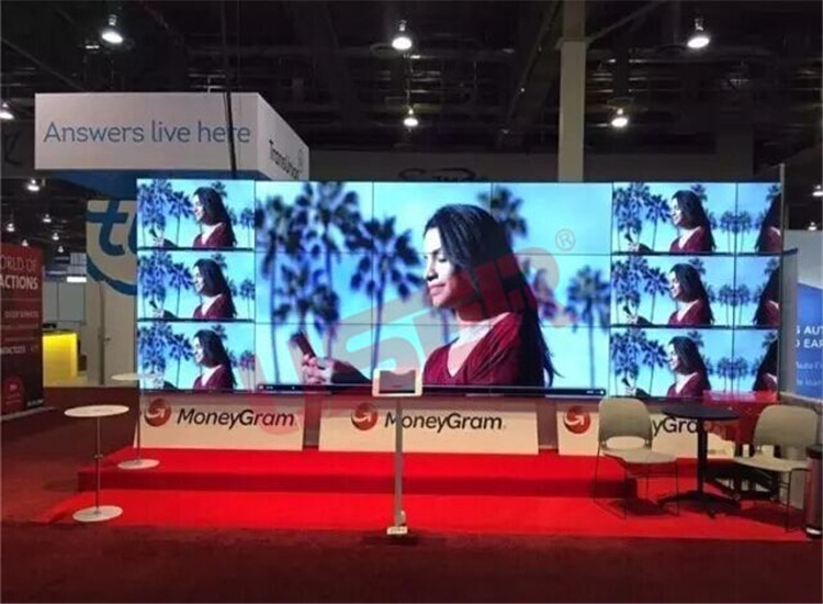 MoneyGram Las Vegas Division, 55inch Video Wall, 3×61