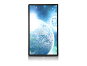 Wall mounted iPhone design vertical screen advertising display