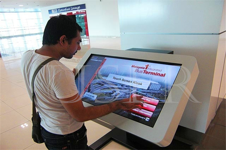 University in Saudi Riyadh, 22inch touch screen kiosk